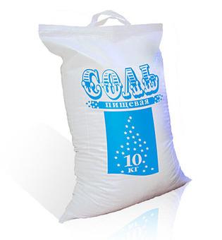 Соль Экстра поваренная пищевая мелкая 50кг/шт