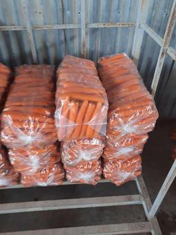 Морковь мытая (Египет) (сорт Сильвано F1) гост 32284-2013, 30/55, 25см, 18кг/шт